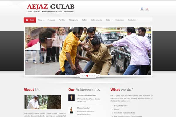 Bollywood Website Design Project 10