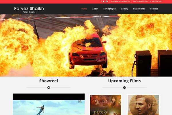 Bollywood Website Design Project 12