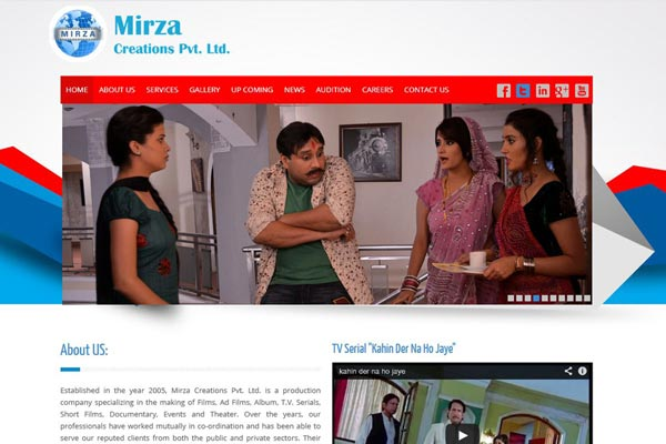 Bollywood Website Design Project 13