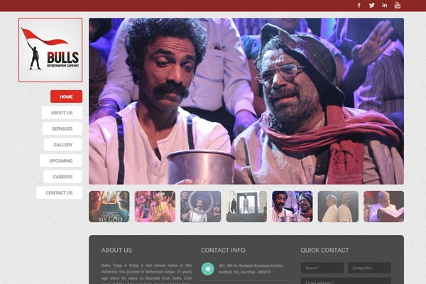 Bollywood Website Design Project 16