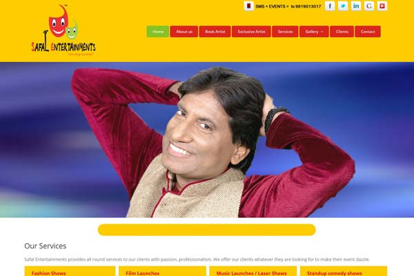 Bollywood Website Design Project 17