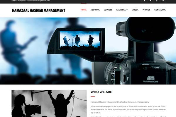 Bollywood Website Design Project 19