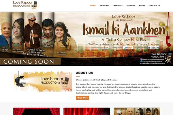 Bollywood Website Design Project 21