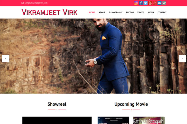 Bollywood Website Design Project 22