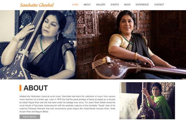 Bollywood Website Design Project 4