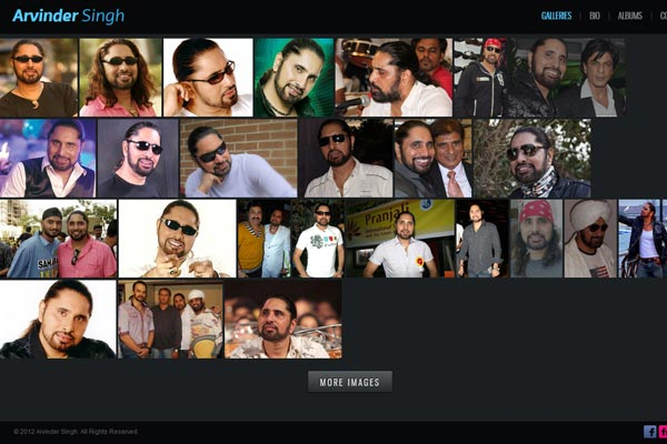 Bollywood Website Design Project 9