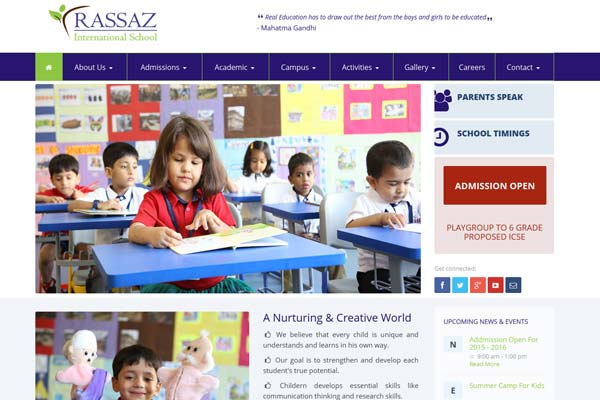 Education College School Website Design