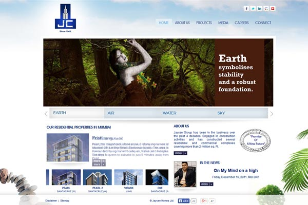 Real Esatate Builders Website Design